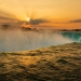 Niagara Falls Sunrise from the Canadian side