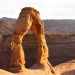 Hiked up to Delicate Arch to catch the sunset on my solo-adventure out west.