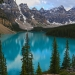 I could have stayed here for hours. Moraine Lake