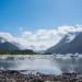 Glacier Lake, Kachemak Bay State Park, Alaska.
