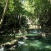One of Indonesia's lesser known waterfalls - Moyo island