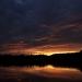 Sunset near Charlotte, NC