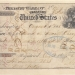 The check used to pay the Russian Empire for Alaska in 1867 for $7.2M at roughly 2 cents per acre.