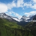 Biked Going to the Sun Road in Glacier National Park yesterday. The views were breath taking.