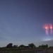 Sprite lightning over Oklahoma