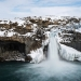Winter at Aldeyjarfoss, Iceland