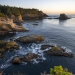 Sunset at the Northwest Tip of the US. Cape Flattery, WA