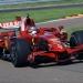 Ferrari F2008 - Slick tyres