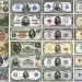 US Five Dollar Bills from 1862 to present