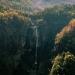 Small waterfall in the foothills of the Himalayas, Manaslu Trek, Nepal.
