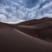 Desert Wanderer, Great Sand Dunes National Park, Colorado, USA