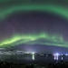 Aurora Borealis over Teriberka, Murmansk, Russia