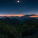 Totality. Last summer's eclipse over the Great Smoky Mountains, Tennessee