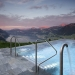 Infinity Pool at the Hotel Villa Honegg in the Swiss Alps