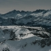 Views from the top of Mammoth Mountain, California