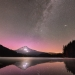 Size and Space - Aurora & Mt. Hood at Trillium Lake