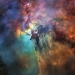 Picture of the Lagoon Nebula by the Hubble Telescope